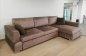 Угловой диван с оттоманкой Памп